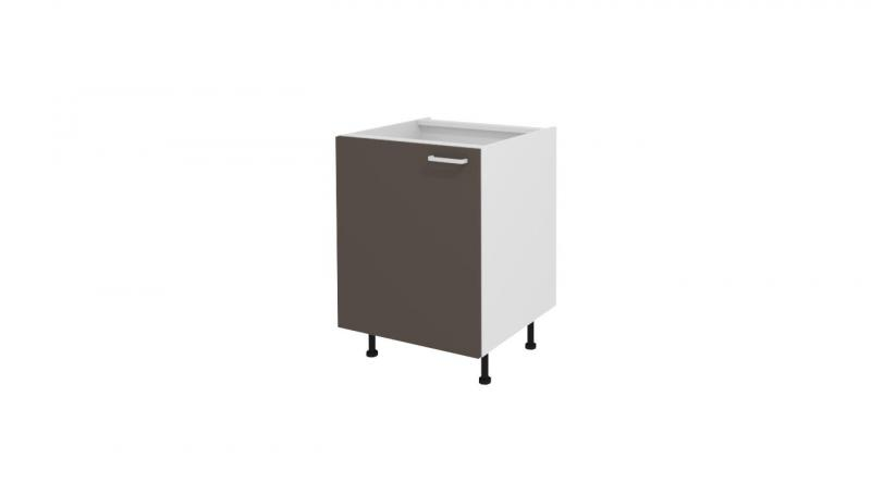 meubles bas sous vier meuble bas de cuisine pas ch re sous vier 1 porte 1 rayon. Black Bedroom Furniture Sets. Home Design Ideas