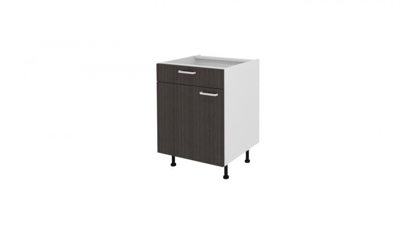 meubles bas 1 porte meuble bas de cuisine pas ch re bas 1 porte 1 rayon 1 tiroir. Black Bedroom Furniture Sets. Home Design Ideas