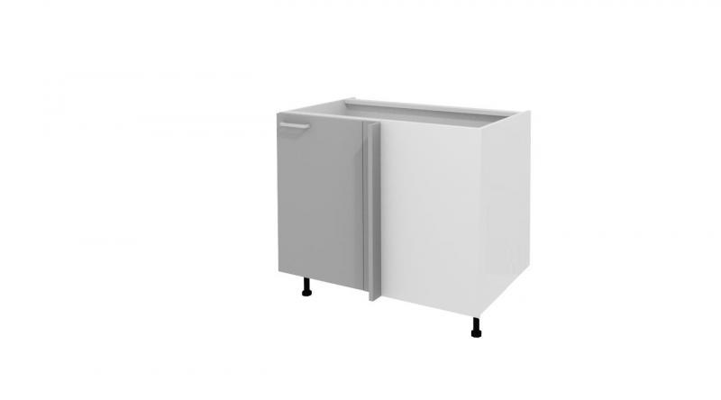 Meubles bas angle droit meuble bas de cuisine pas ch re for Meuble sous evier d angle
