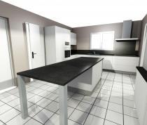 Recevoir votre projet en 3 D (La cuisine pas chère)